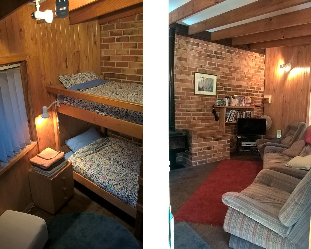 Lounge and Bed 2 - Accommodation Manjimup Nannup Pemberton